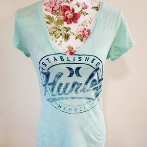 Hurley tee. Size L